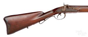 Percussion double barrel coach gun