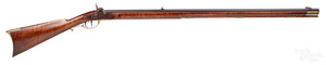 Contemporary Beaver Lodge percussion long rifle