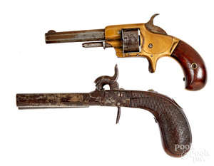 Two antique pistols