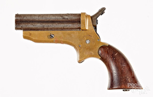 Sharp's four barrel pepperbox pistol