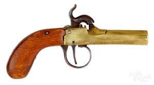 Belgian percussion boot pistol