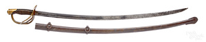 Ames Mfg. Co. Civil War m1860 cavalry saber