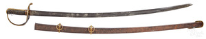 Confederate Nashville Plow Works Civil War saber