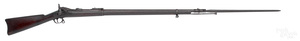 US Springfield model 1884 rifle with bayonet