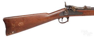 US Springfield model 1888 trapdoor rifle