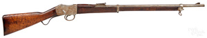 Martini long lever rifle