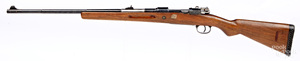 Spanish Mauser Sporterized bolt action rifle