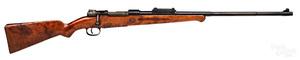 Sporterized German Mauser model K-98 rifle