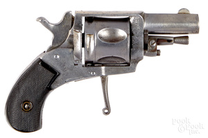 Belgian pin fire revolver