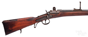 European Snyder back action rifle