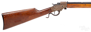 Stevens model 1915 falling block single shot rifle