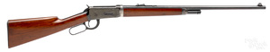 Winchester model 55 lever action take down rifle