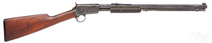 Winchester model 1890 pump action gallery rifle