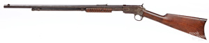 Winchester model 1890 slide action rifle