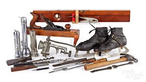 Collection of Winchester tools and sporting goods
