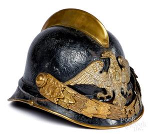 European leather helmet