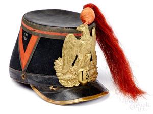 French 19th regiment kepi