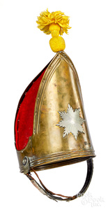 German guard parade helmet