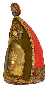 Prussian Grenadier mitre helmet