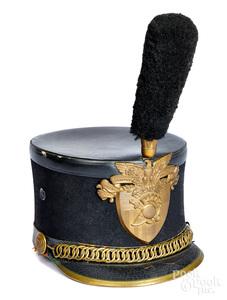 West Point cadet shako