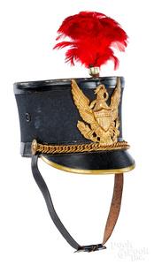 American infantry enlisted men's dress shako