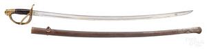 French Prevel officer's sword