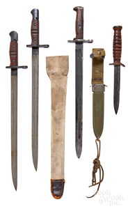 Four edged weapons