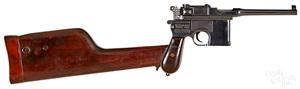 Mauser broomhandle model 1896 pistol