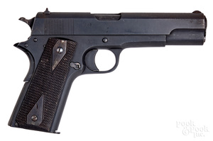 Scarce Nazi Norwegian model 1914 pistol