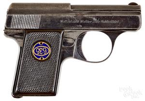 Walther model 9 semi-automatic pistol