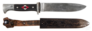 RZM Hitler youth knife and sheath