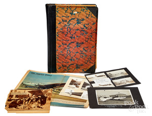 Lockheed aircraft scrapbook