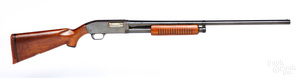 J. C. Higgins model 20 pump action shotgun
