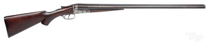 Sterlingworth Co. double barrel hammerless shotgun