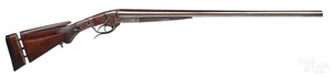 Mortimer & Kirkwood double barrel shotgun