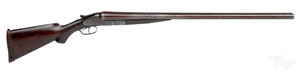 Lefever Arms Co. double barrel hammerless shotgun