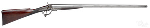 Chas. Osborne double barrel side by side shotgun
