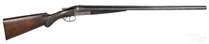 Ansley H. Fox model C double barrel shotgun