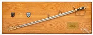 Turkish presentation sword