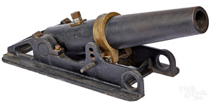 Reading Iron & Steel Company line throwing cannon