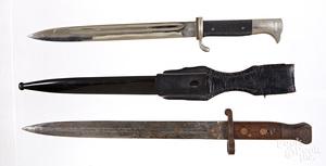 Two bayonets