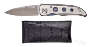 Swiss Klotzli Walker Design ATS-34 folding knife