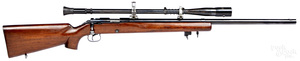 Winchester model 52C heavy bolt action rifle