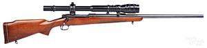 Winchester model 70 bolt action varmint rifle