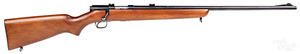 Winchester model 43 bolt action clip fed rifle