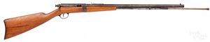 Hopkins and Allen tube fed bolt action rifle