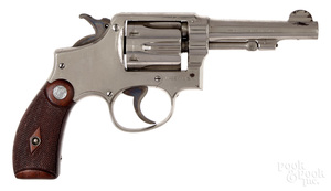Smith & Wesson double action police revolver