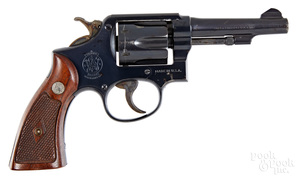 Smith & Wesson pre-model 10 double action revolver