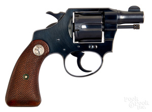Colt Bankers Special double action revolver