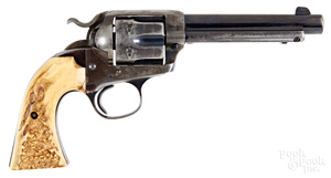 Colt single action Army Bisley model revolver